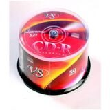 Носители информации CD-R, 52x, VS, Cake/50, VSCDRCB5001